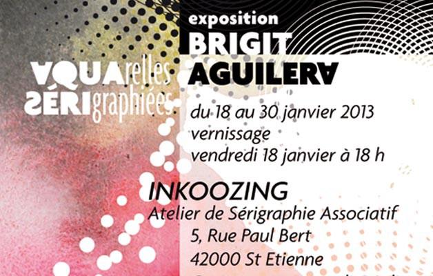 Exposition Brigitte Aguiléra