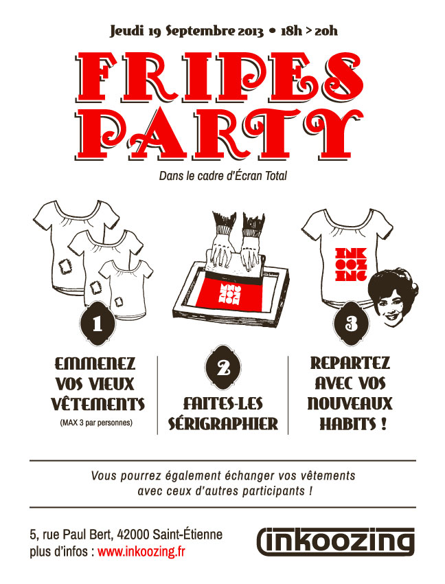 Flyer Fripes Party
